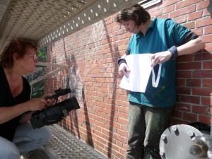 Filmarbeit Wandbild