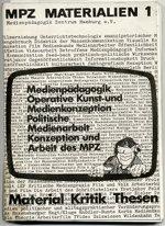 Cover der ersten Ausgabe mpz materialien 1973
